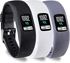 Compatible with Garmin vivofit 4 Bands Women Dressy Jewelry Stainless Steel Accessories Wristband Strap