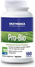 Enzymedica, Pro-Bio, Shelf-Stable Probiotic Supplement to Support Healthy Digestion, 10 Billion CFU, Vegetarian, 180 Capsu...