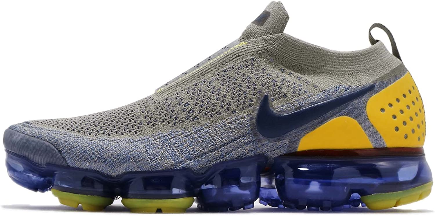 Nike Men's AIR Vapormax FK MOC 2, Dark Stucco Midnight Navy