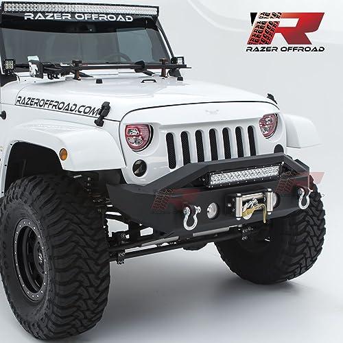 Jeep Wrangler Jk Front Bumper >> Jeep Wrangler Jk Front Bumper Amazon Com
