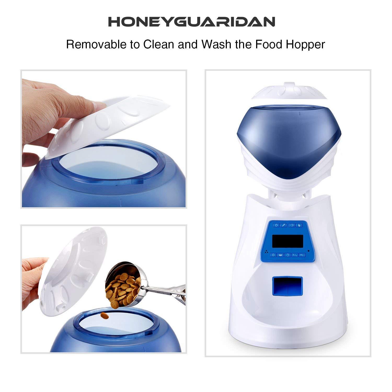 HoneyGuaridan Comedero Electrónico Automático con Recordatorio por ...