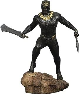 DIAMOND SELECT TOYS Marvel Gallery Black Panther Movie Killmonger PVC Diorama