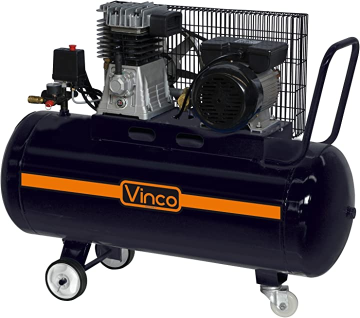 Compressore d`aria vinco zb-01/8-100 3hp lt 100 lubrificato B00IKLE5IY