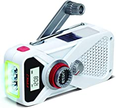 Eton Hand Turbine AM/FM/NOAA Weather Radio with USB Smartphone Charger and LED Flashlight