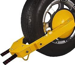 Mophorn TWL100 Ultra-Max Adjustable Wheel Lock Heavy-Duty Car Tire Wheel Lock Anti-Theft Lock (Ultra-Max)