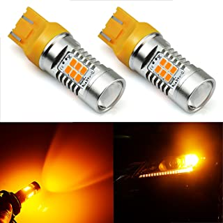JDM ASTAR 1260 Lumens Extremely Bright PX Chips 7440 7441 7443 7444 Amber Yellow Turn Signal LED Bulbs