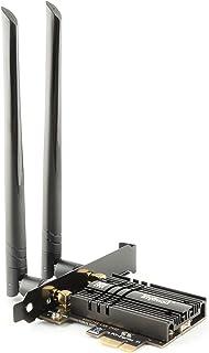 ZYT AX3000 PCIe 無線LANカード | Intel Wi-Fi 6 AX200モジュール | Bluetooth5.1 PCIe Wifi カード | デュアルバンド(5GHz 2402Mbps / 2.4GHz 574Mbps)...