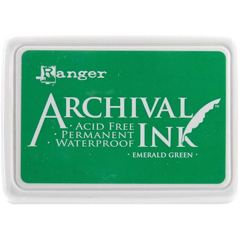 Ranger AIP-30447 Archival Inkpad, Emerald Green
