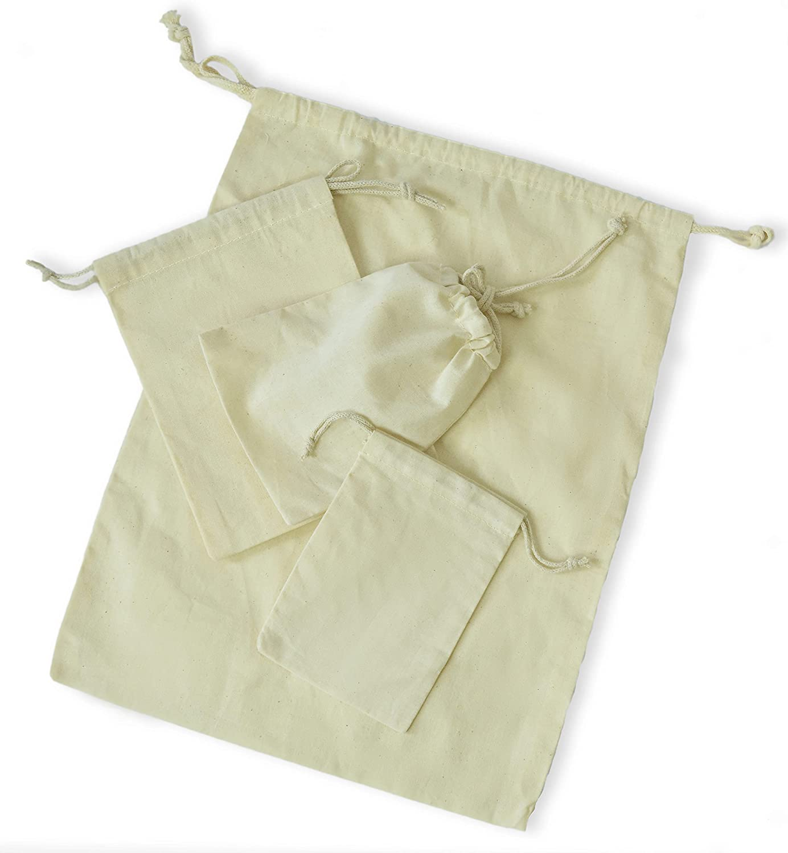 Plush Needle - Seasonal Wrap Introduction Reusable Eco Friendly x Inches 10 Choice 12 Cotton Bags.