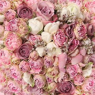 Muzi Pink Rose Blumen Fotografie Hintergrund Valentine 's Day Spring Neugeborene Hochzeit Hintergründe Mikrofaser Studio Fotografen Kunst Stoff Hintergrund Booth Requisiten 5x 150 D 8059