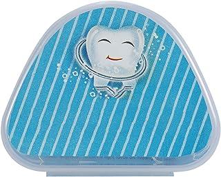 Strek mondbescherming, tandenlade houder met koffer, overvolle onregelmatige tanden Corrector voor tanden slijpen tanden l...