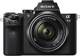 Sony Alpha 7 II - Cámara evil de fotograma completo con objetivo Zoom Sony  28-70mm f/3.5-5.6, 24.3 Megapíxeles, enfoque automático híbrido rápido, estabilización de imagen óptica de 5 ejes