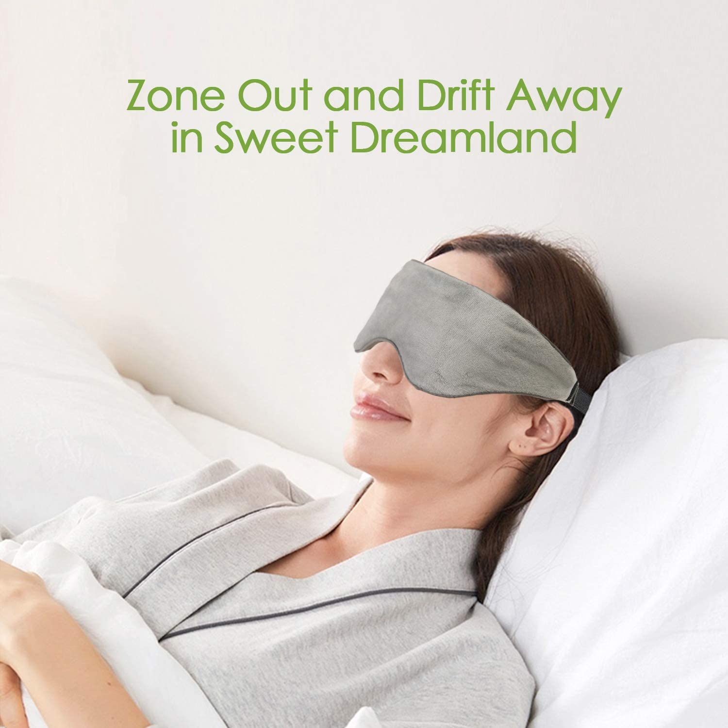 Sivio Weighted Eye Mask and Freezable Weighted Eye Pillow
