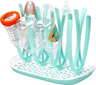Xigeapg 1 Set Safe Detachable Baby Bottle Drying Rack Drainer Storage Shelf