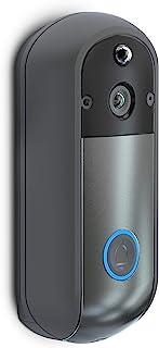 NetzHome - Timbre Inteligente Wifi - Timbre con Camara y Microfono - Contra Agua - Compatible con iOS y Android - Monitore...