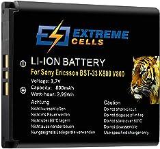 Extremecells - Batería Compatible con Sony Ericsson W595, W395, W205, W705, BST-33, W660i, M600i y P990i