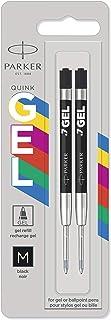 Parker Jotter Originals ricariche di inchiostro gel | Ricariche di inchiostro gel nero | punta media (0,7 mm) | 2 pezzi