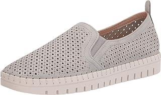 Easy Street Women's Athleisure Sneaker, Grey, 8.5 X-Wide