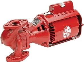 Bell & Gossett 106189 Bell & Gosset Iron Body Circulator Pump, 5.7 X 15.5 X 7.7, Red