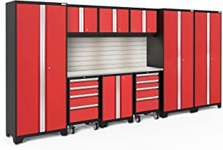 NewAge Products Bold 3.0 Red 10 Piece Set, Garage Cabinets, 56386