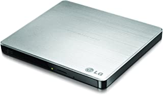 LG Electronics 8X USB 2.0 Super Multi Ultra Slim Portable DVD Rewriter External Drive with M-DISC Support for PC and Mac, ...