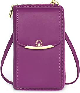 Womens Small Crossbody Bag Cellphone Shoulder Purse Wallet Case Card Handbag