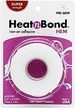 HeatnBond Hem Iron-On Adhesive, Super Weight, 3/4 Inch x 8 Yards