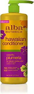 Alba Botanica Colorific Plumeria Hawaiian Conditioner, 32 oz.