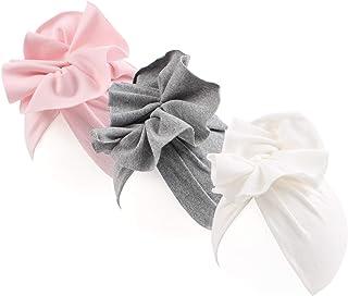 JANGANNSA Cotton Newborn Baby Girl Hats Colorful Flower Newborn Hat India Toddler Cap for Baby 0-6 Months Spring
