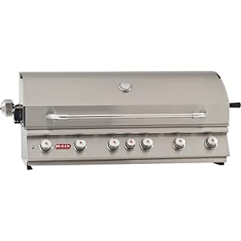 Bull Outdoor Products 62649 Diablo 6 Burner Grill Head, Natural Gas
