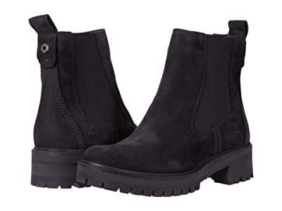 Timberland Courmayeur Valley Chelsea (Black Nubuck) Women