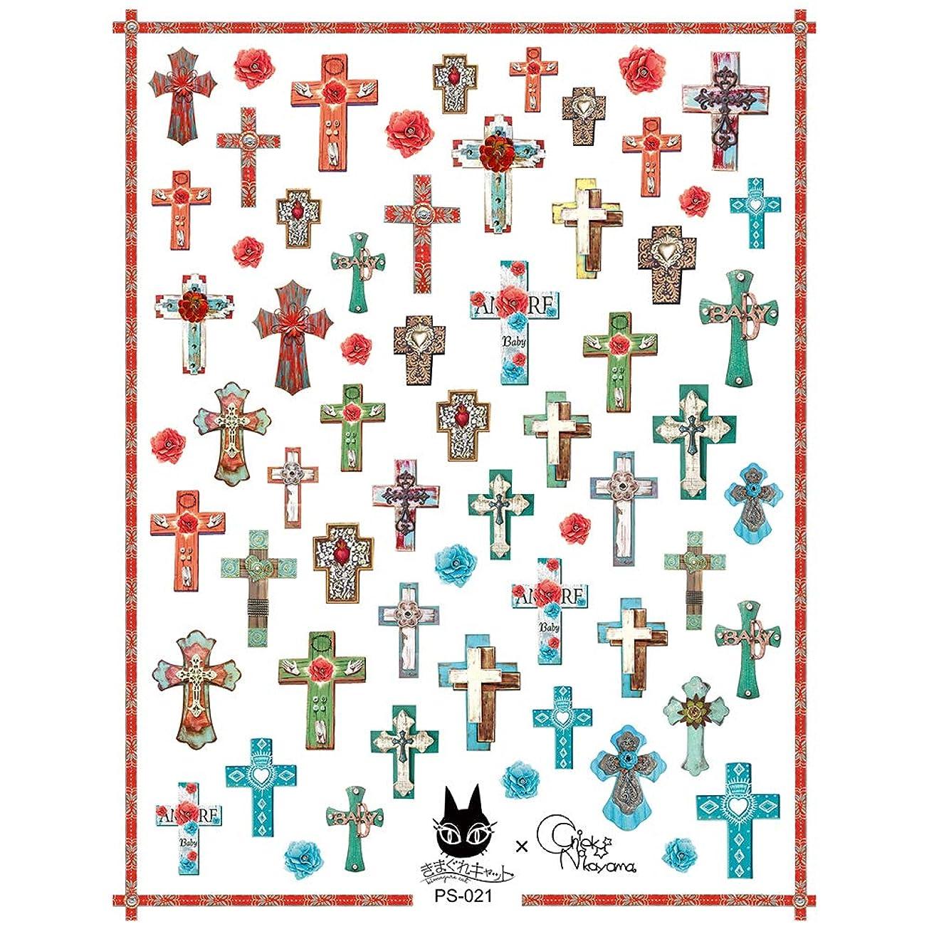 Bettygel きまぐれステッカー Mexican Cross