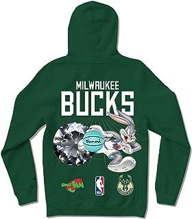 Diamond Supply Co. x NBA Space Jam 2 Men's Milwaukee Bucks Long Sleeve Pullover Hoodie
