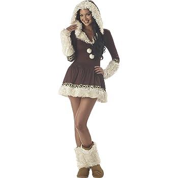 Disfraz Esquimal para mujer: Amazon.es: Juguetes y juegos