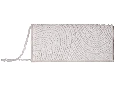 Adrianna Papell Italy (White) Clutch Handbags