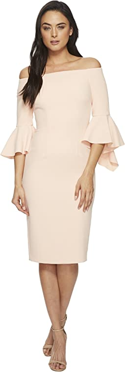 Tahari by ASL - Statement Sleeve Sheath Dress