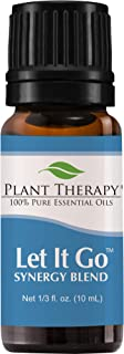 Plant Therapy Essential Oil | Let It Go Synergy | Stress & Calming Relief Blend | 100% Pure, Undiluted, Natural Aromatherapy, Therapeutic Grade | 10 milliliter (1/3 ounce)