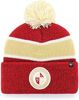 San Francisco 49ers Beanie Hat Noreaster Vintage Knit