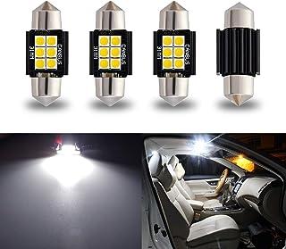iBrightstar Newest 9-30V Extremely Bright DE3175 DE3021 Festoon Error Free 1.25