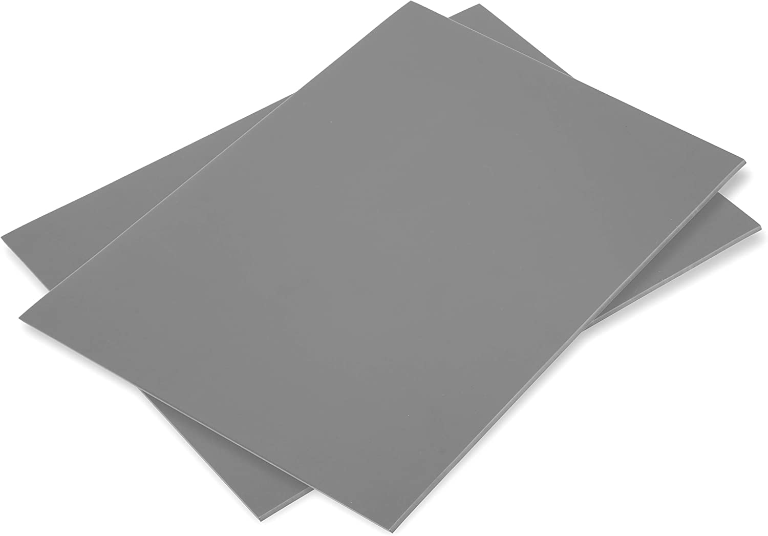 Falling in Art Soft Linoleum Carving Block 9 Inches by 12 Inches 2-Pack Grey