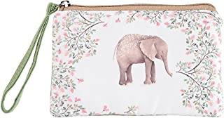 XeYOU Cute Canvas Cash Coin Purse Bag, Cellphone Bag With Handle, Make Up Bag for Women and Girls