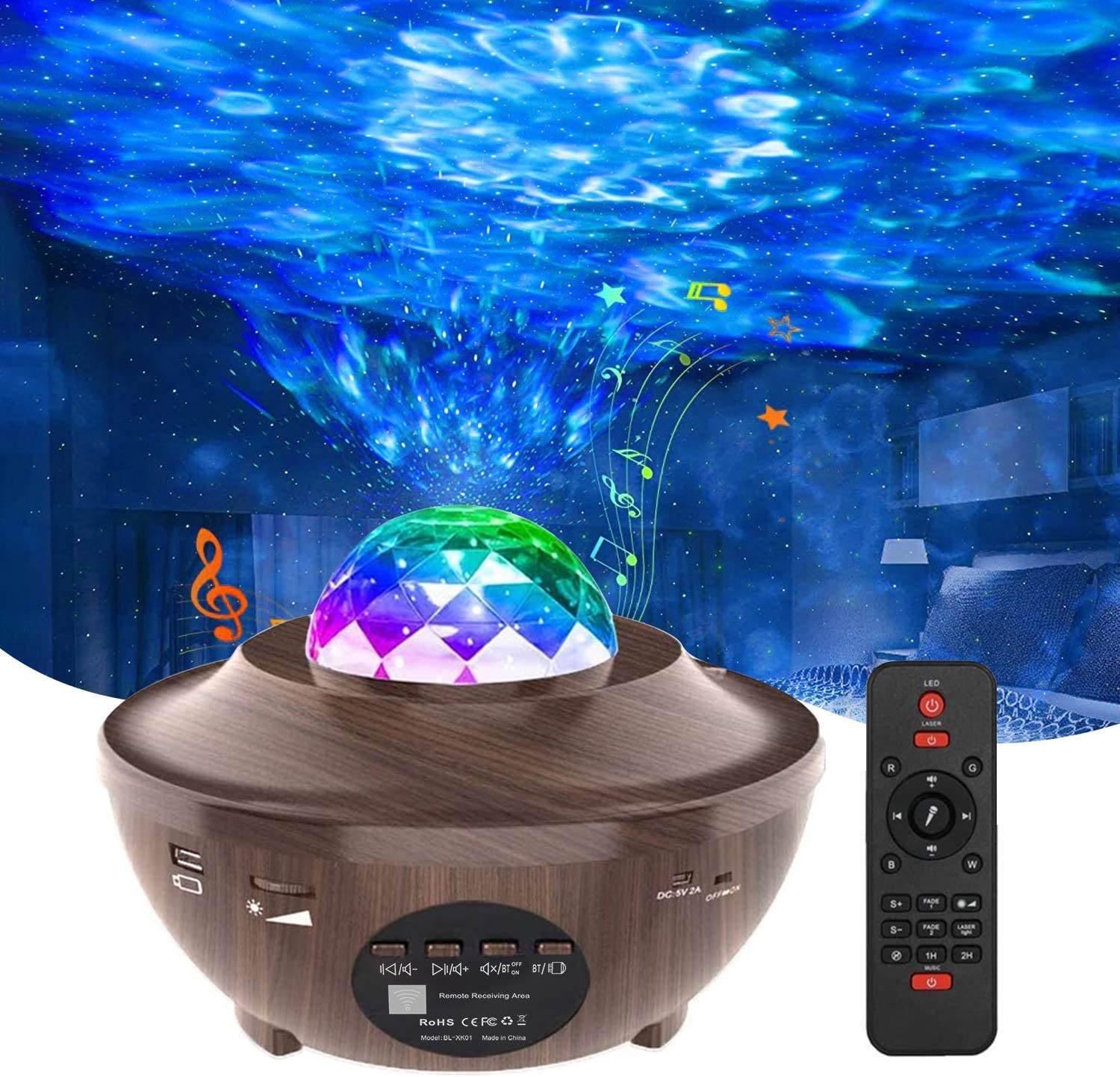 Sales Night security Light Projector for Star Homcasito Bedroom