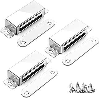 WYANG Buffer Catch Push to Open System 3 unids Caja de Acero Inoxidable Gabinete Puerta Caj/ón Bisagra Amortiguador para Cajones Muebles de Gabinete 1#