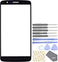 VEKIR Screen Glass Lens Replacement for LG Stylo 3 LS777(Black)[NO LCD, NO Touch]