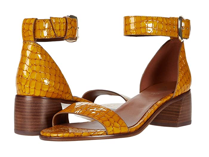 Naturalizer  27 Edit Kandrie (Yellow Patent Croco Print Leather) Womens Shoes