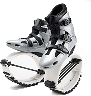 HXXXIN Zapatos De Rebote Unisex Niños Adultos Antigravedad Botas para Correr Fuerza Fitness Zapatos De Salto,Gray White m