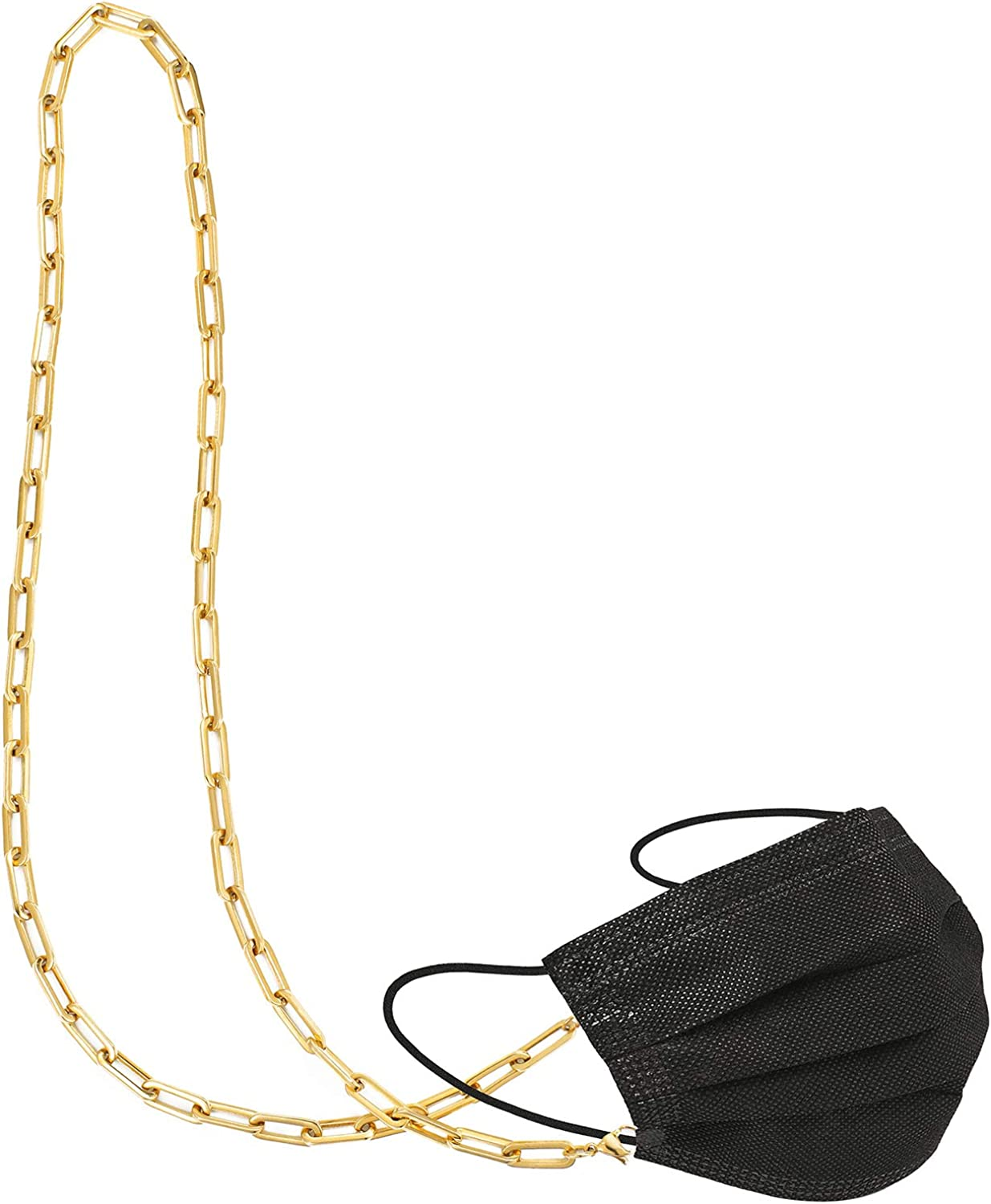 NEW SINYARS Face Mask Holder Lanyard Necklace Women Chain Max 57% OFF