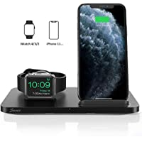 Seneo 2 in 1 Wireless Charging Station with iWatch Charger Stand