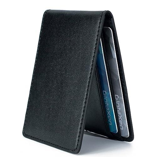 eb1bb6f4cb Ultra Slim Mini Size Wallet ID Window Card Case with RFID Blocking