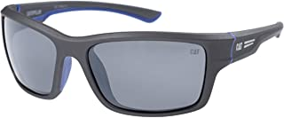 Caterpillar Men's Ridge 108P Polarized Wrap Sunglasses,...